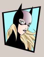 batgirl colored by spushan