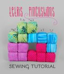 Sewing Tutorial: Tetris Pincushions by SewDesuNe