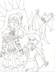 Book vs. Movie: Astrid and Camicazi by 8ClockworkPurple8