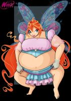 bloom sumo  -  commission by nightwing1975