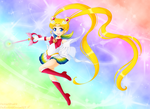 Super Sailor Moon by padfootlet