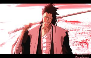 Kenpachi by DreamingEssence