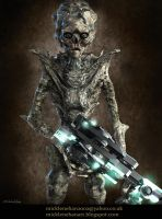 Alien Flesh Eater by Mick2006