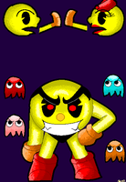 pac-man by Lillmissthang
