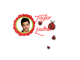 texto png taylor lautner by Carol05
