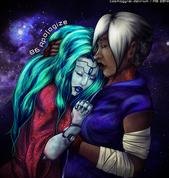86. Apologize by cosmogyral-delirium