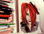Gerard Way by Farbenfrei