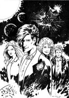Doctor Who by tomcrielly
