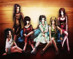 The Goddesses Live by lordaphaius28
