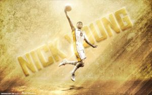 Nick Young by Sanoinoi