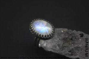 Moonstone ring by IMNIUM