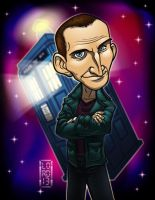 Dr. Who - the 9th Doctor by lordmesa