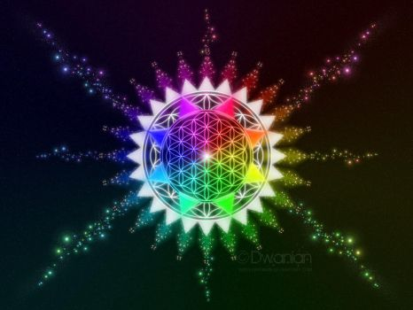 Flower of Life Creation by ImagineAMatrix