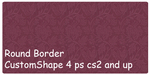 Vintage border customshape by xALIASx