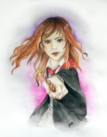 Hermione by Cloudyh