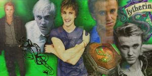 Tom Felton as Draco Malfoy by x-TheMadHatter-x