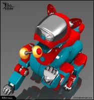Aibo pose06 by D3r3x