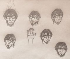 Young Yen Sid Face References by WishExpedition23