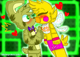 .:ToyChiTrap:. Unexpected Kiss by shinychicadee