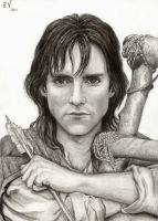 Michael Praed as Robin Hood by EkaterinaV
