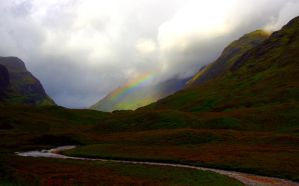 Rainbow at Glencoe by Nordstjarna