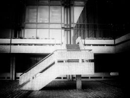 City Stairs 1 by Bazz-photography