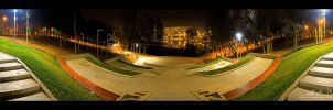 A.I. Cuza Park - Pano RAW no.3 by vxside