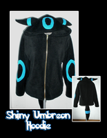 Shiny Umbreon Hoodie by Paradise-Props