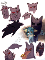 Sheeb the Gengar by sheebal