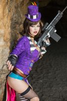 Borderlands 2 - Mad Moxxi Cosplay by AzHP