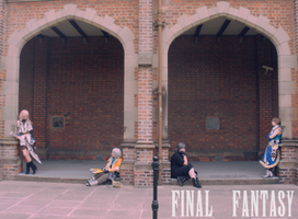 Final Fantasy In Archways by mscupcake91