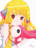 Chii et le Lapin by shinku2187