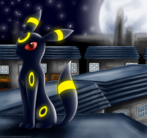 Umbreon :: by Nero-Blackwing