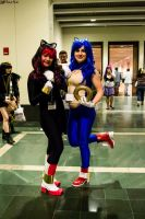 Sonic and Shadow by soliciana