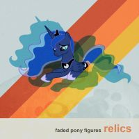 Faded Pony Figures - Relics by ShurtugalRon
