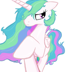 Princess Celestia lose all her stuff in Ms-Piant by sallycars