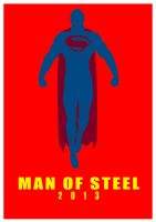 MAN OF STEEL by Pramodace