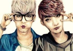 Insoo and Seyong by Alleeza