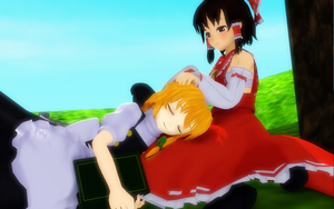 She's Better When She's Sleeping by Trouble-san
