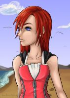 Kairi (colored) by Cloudyh