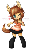 [neko951] Chun (star) by chocolath