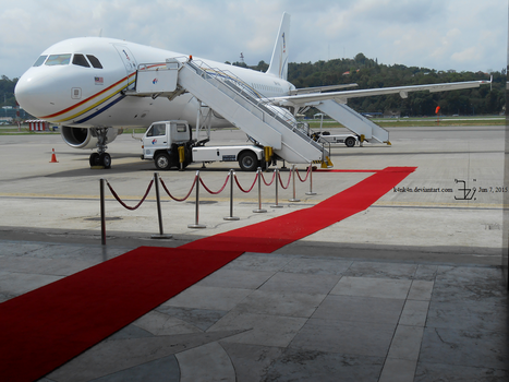Plane 20150607 _ red carpet by K4nK4n