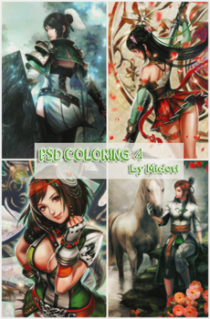 Psd Coloring 4 by Midori by Kitsune998
