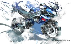 Suzuki GSX-R1000 Wallpaper by EliasKell