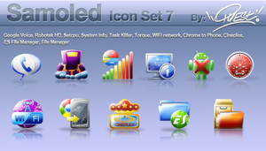 Samoled: icon set 7 by jquest68