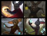 Fennek the alchemist thumbnails by Suzanne-Helmigh
