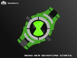 Ben 10 Alien Force Omnitrix by 4eknight11