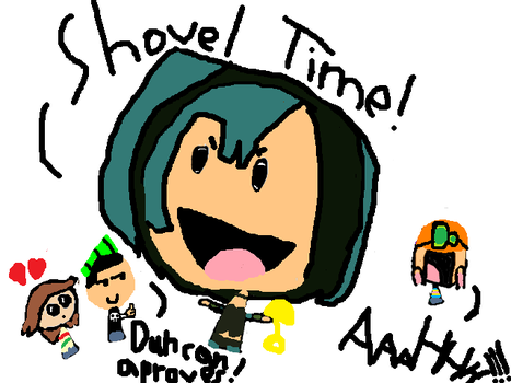 GWEN SHOVEL TIME by tdi-tda-tdwt-fan11