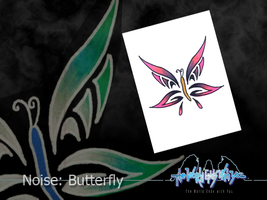 Noise: Butterfly by TerraYochi