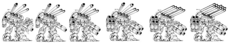 ROBOTECH IMU HWR 02 Mk. VII TO XXII Monster by unspacy